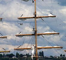Masts Of Pallada by Rhonda R Clements