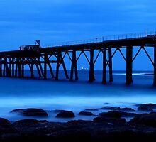Evening Blue by Nichole Lea
