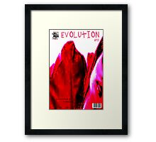 EVOLUTION COVER NO  2 Framed Print