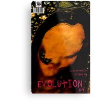 EVOLUTION N0 4 COVER Metal Print