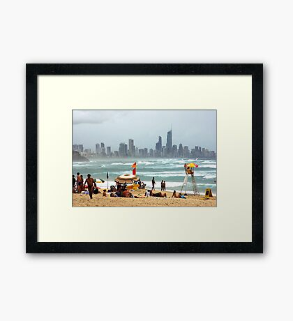 Summer on the Sand Framed Print