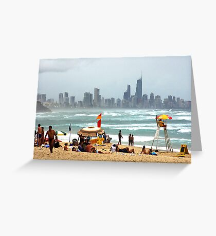 Summer on the Sand Greeting Card