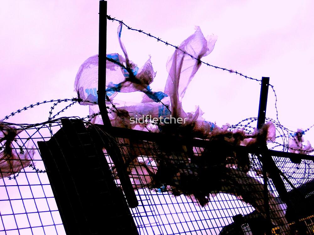 razor wire bag by sidfletcher