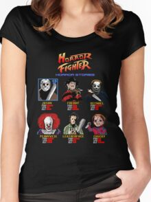 Horror Fighter Women's Fitted Scoop T-Shirt
