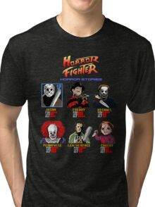 Horror Fighter Tri-blend T-Shirt
