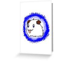 The Tiny Poro Greeting Card