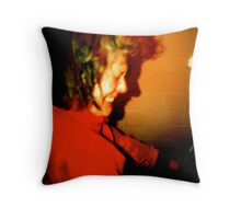 After the wake... Throw Pillow