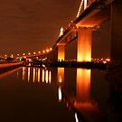 Westgate Bridge 1 by Joshua Hakman  Photography Pty Ltd