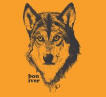 Bon Iver Wolf by Basic Billy Boy Brown