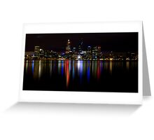 Night View.1 Greeting Card
