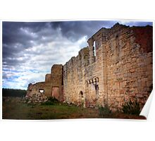Tupholme Abbey ruins, Lincolnshire HDR Poster