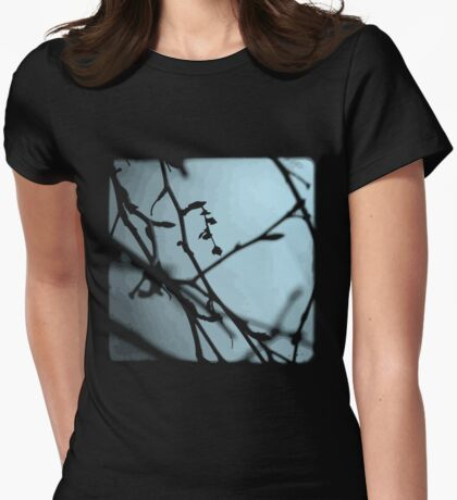 Winter Blues - TTV Womens Fitted T-Shirt