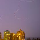 Lightning over Coolangatta by Tim Richardson