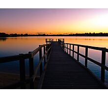 Canning River at Shelley Photographic Print