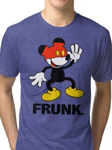 Frunked Mouse. Tri-blend T-Shirt