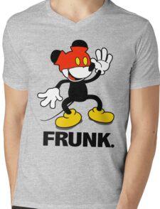 Frunked Mouse. Mens V-Neck T-Shirt