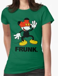 Frunked Mouse. Womens Fitted T-Shirt