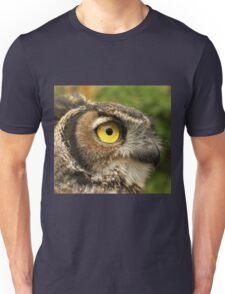 Darwin, A Great Horned Owl Unisex T-Shirt