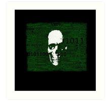 Virus Code Binary.exe Art Print