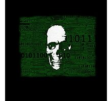Virus Code Binary.exe Photographic Print
