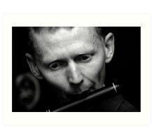 Irish Flute Art Print