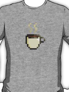 Coffee Cup Pixel Art T-Shirt