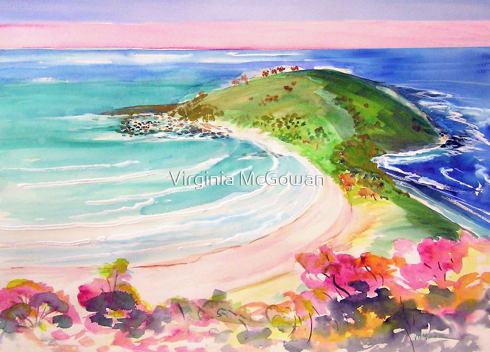 Angourie Headland  by Virginia McGowan