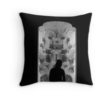Late Viewing Throw Pillow