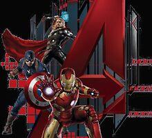 The Ultimate Avangers Super Hero by greylock