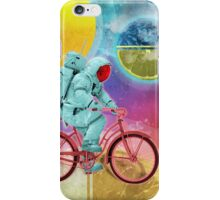 Spaceman Velo Omega iPhone Case/Skin