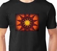 Fire Sunburst Unisex T-Shirt