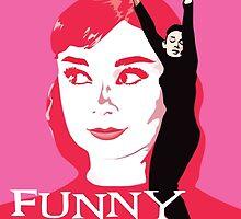 Audrey Hepburn in Funny Face by sadamemoon