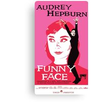 Audrey Hepburn in Funny Face Canvas Print