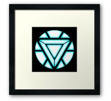 Iron Man Arc Reactor Framed Print
