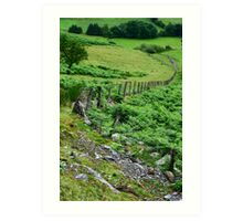 Around Pistyllrhaeadr Art Print