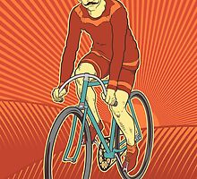 Retro Cyclist by GalletaRaton