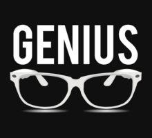 Genius Geek Glasses Nerd Smart by mralan