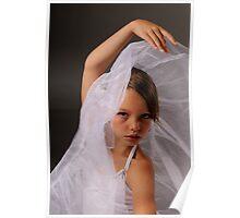 ballerina in white Poster