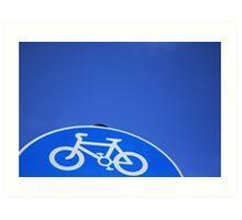 ET's Bike Art Print
