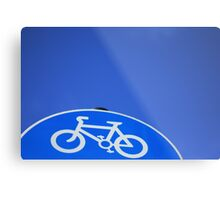 ET's Bike Metal Print
