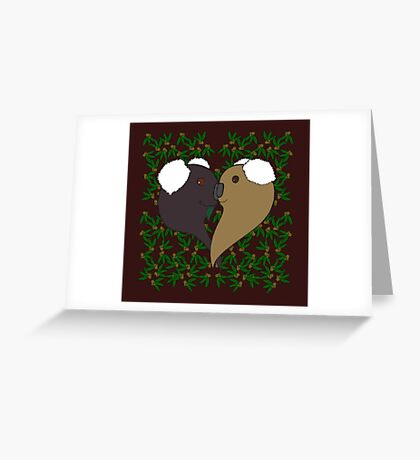 For the love of Koalas Greeting Card