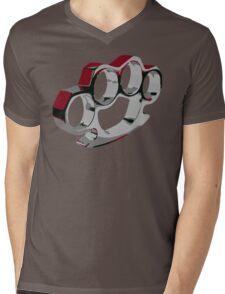 Bloody Knuckles Mens V-Neck T-Shirt