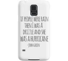 If People Were Rain Samsung Galaxy Case/Skin