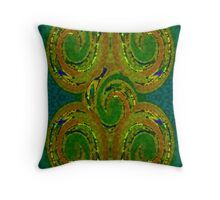 Celtic Swirls Throw Pillow