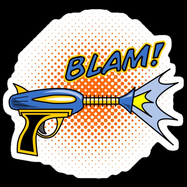 BLAM! - Raygun MKII by robotrobotROBOT