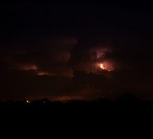 Cloud to Cloud Lightning by Bo Insogna