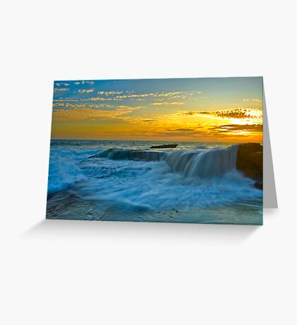 Silky Transition Greeting Card