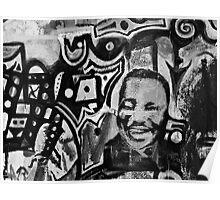 Bisbee Graffiti Wall Poster
