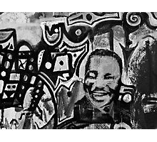 Bisbee Graffiti Wall Photographic Print