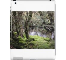 Mossy bank , Enchanted Walk, Cradle Mountain,Tasmania, Australia. iPad Case/Skin